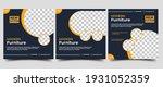 set of editable social media... | Shutterstock .eps vector #1931052359