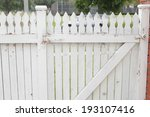 an image of fence   Shutterstock . vector #193107416
