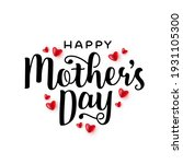 mothers day greeting card... | Shutterstock .eps vector #1931105300