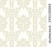 damask seamless vector pattern. ...   Shutterstock .eps vector #1931150003