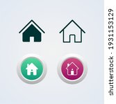 vector llustration of home icon