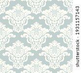 damask seamless vector pattern. ...   Shutterstock .eps vector #1931157143