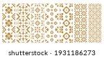 set arabic oriental ornamental... | Shutterstock .eps vector #1931186273