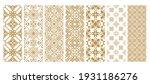 set islamic oriental ornamental ... | Shutterstock .eps vector #1931186276