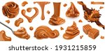 Caramel  Peanut Butter. 3d...
