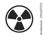 Radioactive Icon Nuclear Symbol....