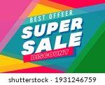 super sale big finale special... | Shutterstock .eps vector #1931246759