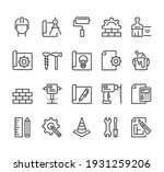 construction house project... | Shutterstock .eps vector #1931259206