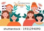 international women's day...   Shutterstock .eps vector #1931294090