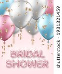 bridal shower invitation... | Shutterstock .eps vector #1931321459