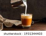 Hot Thai Tea Latte With Milk...