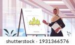 black muslim businesswoman... | Shutterstock .eps vector #1931366576