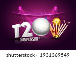 t2o cricket championship league ...   Shutterstock .eps vector #1931369549