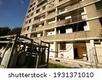 Demolition Site In A Complex Of ...