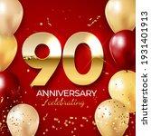anniversary celebration...   Shutterstock .eps vector #1931401913