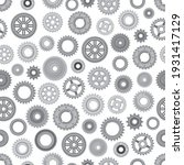 machine metal gearwheels... | Shutterstock .eps vector #1931417129