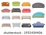 modern sofa  classic or retro...   Shutterstock .eps vector #1931434406