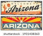 arizona state retro souvenir... | Shutterstock .eps vector #1931438363