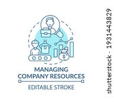 managing company resources... | Shutterstock .eps vector #1931443829