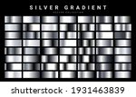 set of silver foil texture... | Shutterstock .eps vector #1931463839