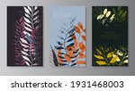 natural background with colored ... | Shutterstock .eps vector #1931468003