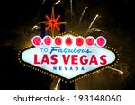 iconic welcome to fabulous las... | Shutterstock . vector #193148060