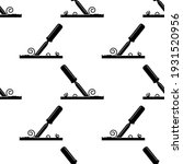chisel icon seamless pattern ...   Shutterstock .eps vector #1931520956