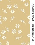 simple doodle seamless pattern... | Shutterstock .eps vector #1931530910