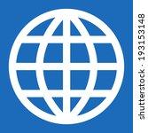 globe icon | Shutterstock .eps vector #193153148