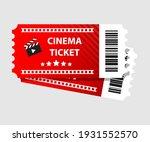 red cinema tickets illustration ... | Shutterstock .eps vector #1931552570