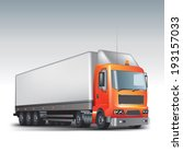 commercial delivery truck.... | Shutterstock .eps vector #193157033