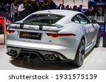 Jaguar F Type Sports Car At The ...