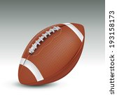 realistic football ball. vector ... | Shutterstock .eps vector #193158173