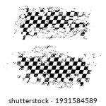 racing flag grunge design of... | Shutterstock .eps vector #1931584589