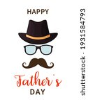 father day. happy father s day. ... | Shutterstock .eps vector #1931584793