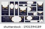 set of ramadan web banners of... | Shutterstock .eps vector #1931594189