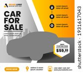 car sale promotion social media ... | Shutterstock .eps vector #1931617043
