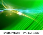 abstract wave background with... | Shutterstock . vector #1931618339