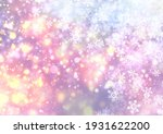 winter background with falling... | Shutterstock . vector #1931622200