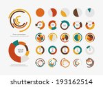 infographic elements pie chart... | Shutterstock .eps vector #193162514
