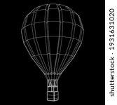 airballoon design airway travel ... | Shutterstock .eps vector #1931631020