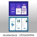 set of ui  ux  gui screens best ... | Shutterstock .eps vector #1931634596