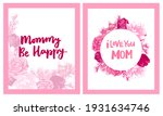 happy mother's day greeting... | Shutterstock .eps vector #1931634746