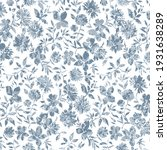 Floral Repeat Pattern With...