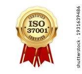 iso 37001 standard certified... | Shutterstock .eps vector #1931639486
