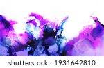 abstract fluid ink art... | Shutterstock . vector #1931642810
