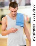 fitness  sport  training  gym ... | Shutterstock . vector #193164590