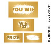 suitable for scratch card game... | Shutterstock . vector #1931649059