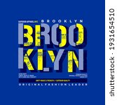 brooklyn original fashion... | Shutterstock .eps vector #1931654510