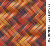 seamless pattern of scottish... | Shutterstock .eps vector #1931654786